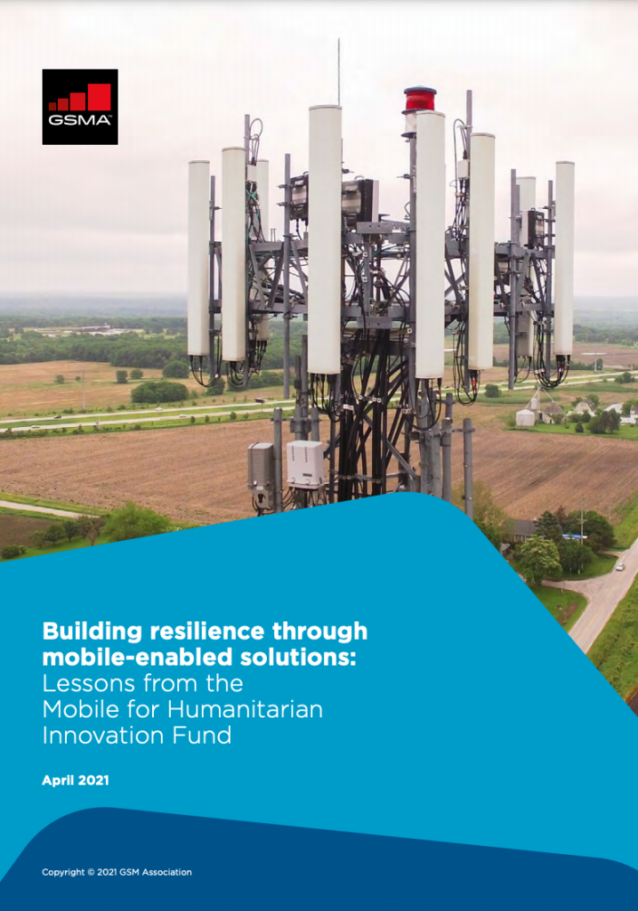 Building resilience through mobile-enabled solutions: Lessons from the Mobile for Humanitarian Innovation Fund image