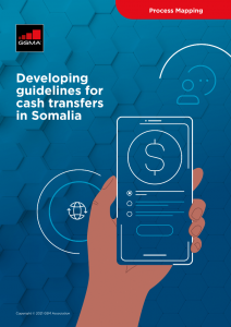 Developing guidelines for cash transfers in Somalia image