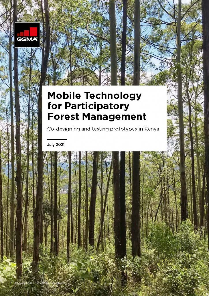 Mobile Technology for Participatory Forest Management: Co-designing and testing prototypes in Kenya image