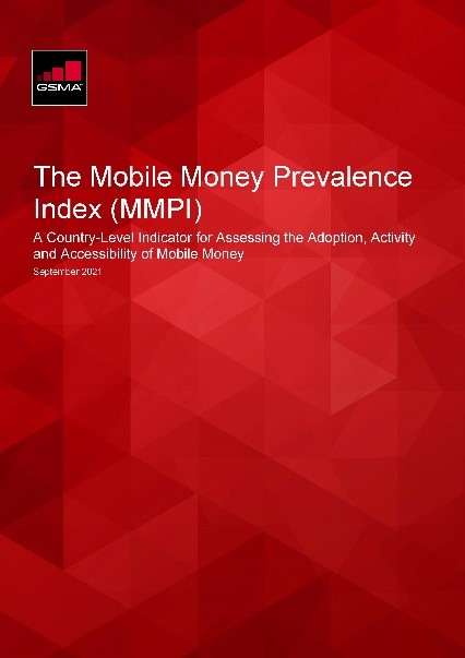 The Mobile Money Prevalence Index (MMPI): A Country-Level Indicator for Assessing the Adoption, Activity and Accessibility of Mobile Money image