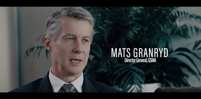 Mats Granryd, Director General, GSMA