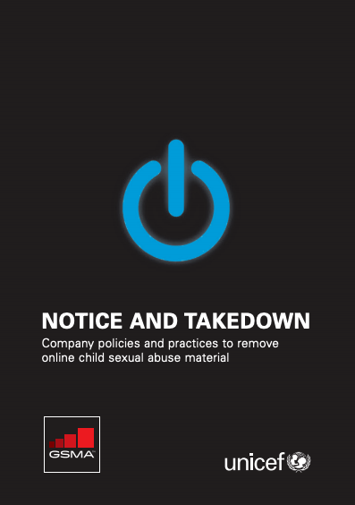 Notice and Takedown: Company policies and practices to remove online child sexual abuse material image