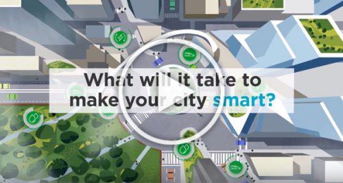 Smart cities animated video