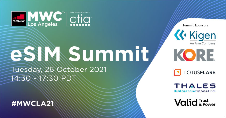 eSIM Summit: Acceleration of eSIM Adoption
