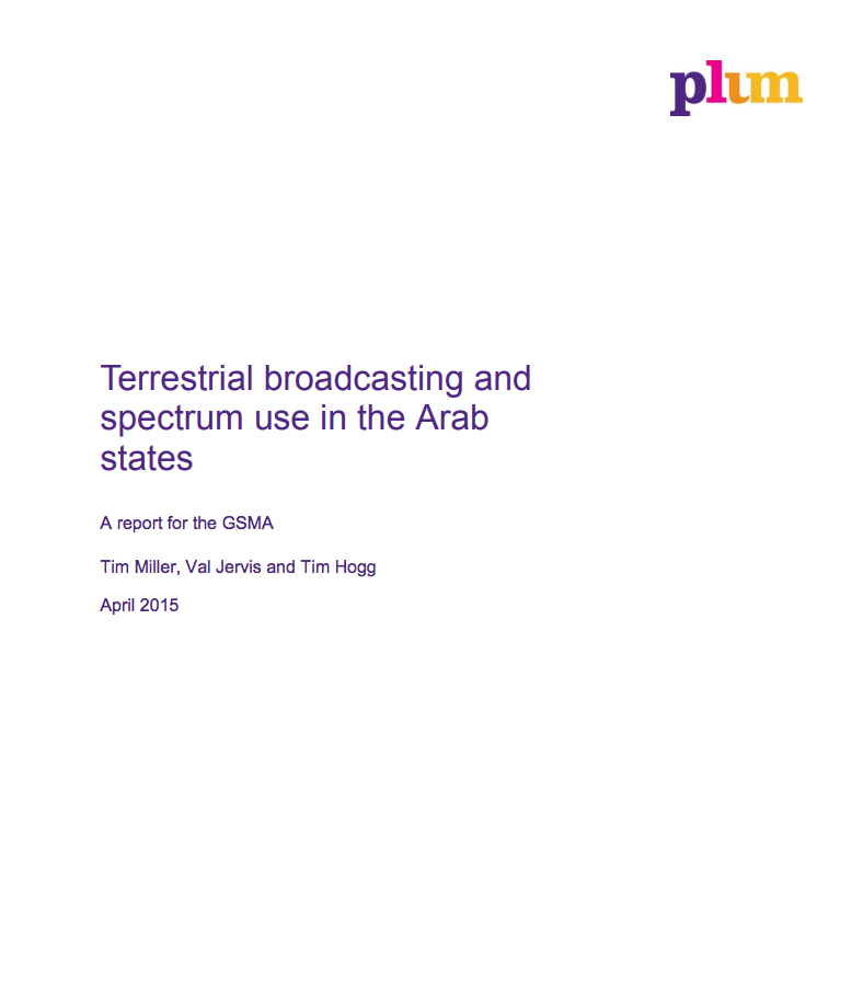 Terrestrial broadcasting and spectrum use in the Arab States image