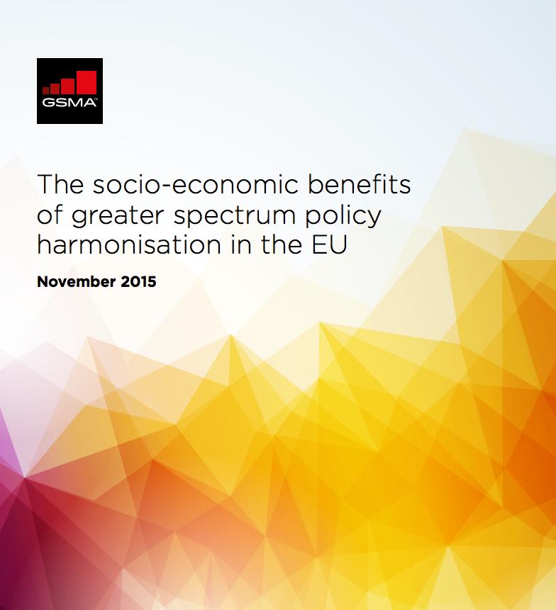 Socio-economic benefits of greater spectrum policy harmonisation in the EU image