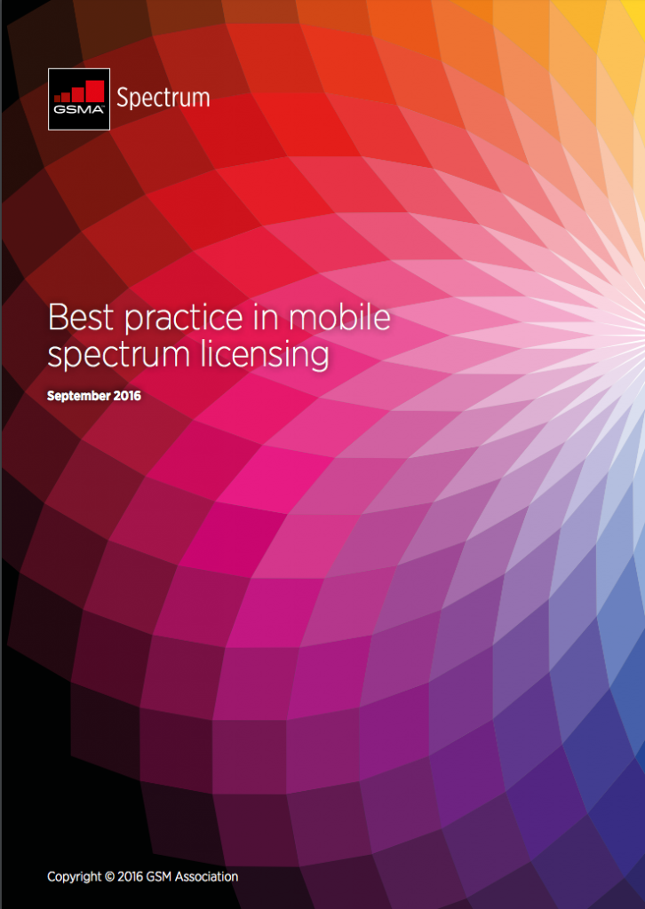 Best practice in mobile spectrum licensing image