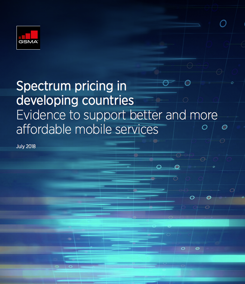 Developing countries are hard hit by high spectrum prices image