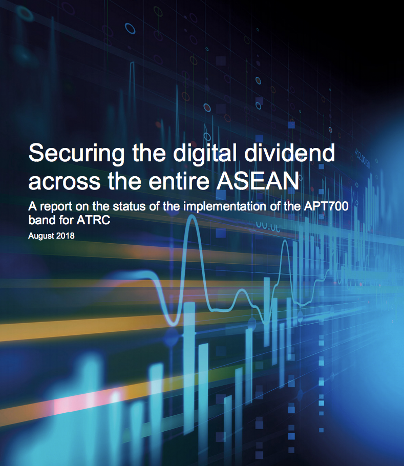 Securing the digital dividend across the entire ASEAN image