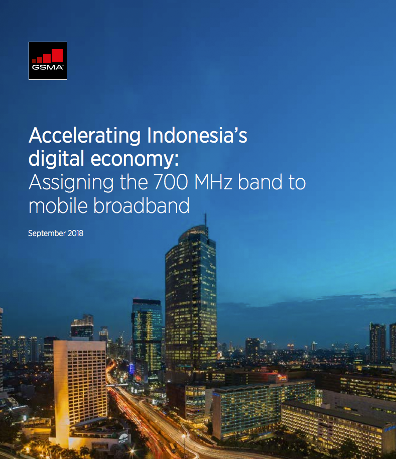 How 700 MHz can help Indonesia become a digital economy giant image
