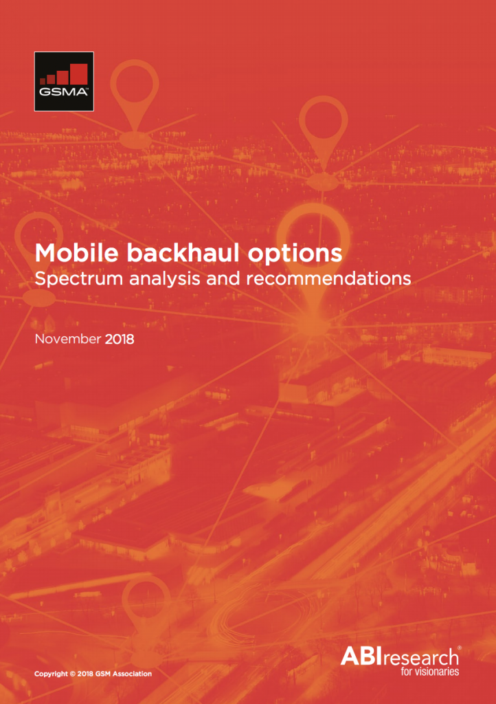Mobile backhaul options – Spectrum analysis and recommendations image