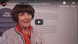 Finland's Anne Catherine Berner on WRC-19