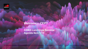 CPM19-2: CEPT lunchtime seminar on mmWave spectrum for 5G image