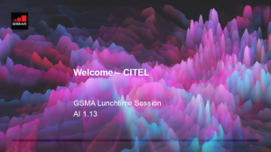 CPM19-2: CITEL lunchtime seminar on mmWave spectrum for 5G image