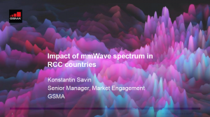 CPM19-2: RCC lunchtime seminar on mmWave spectrum for 5G image