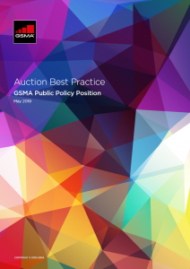 Successful spectrum auctions are key to high-quality connectivity image