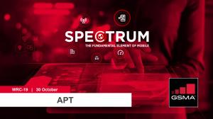 WRC-19: APT lunchtime seminar on mmWave spectrum for 5G image