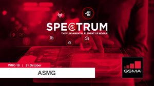 WRC-19: ASMG lunchtime seminar on mmWave spectrum for 5G image
