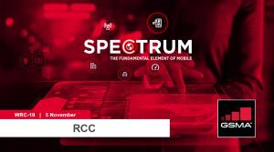 WRC-19: RCC lunchtime seminar on mmWave spectrum for 5G image