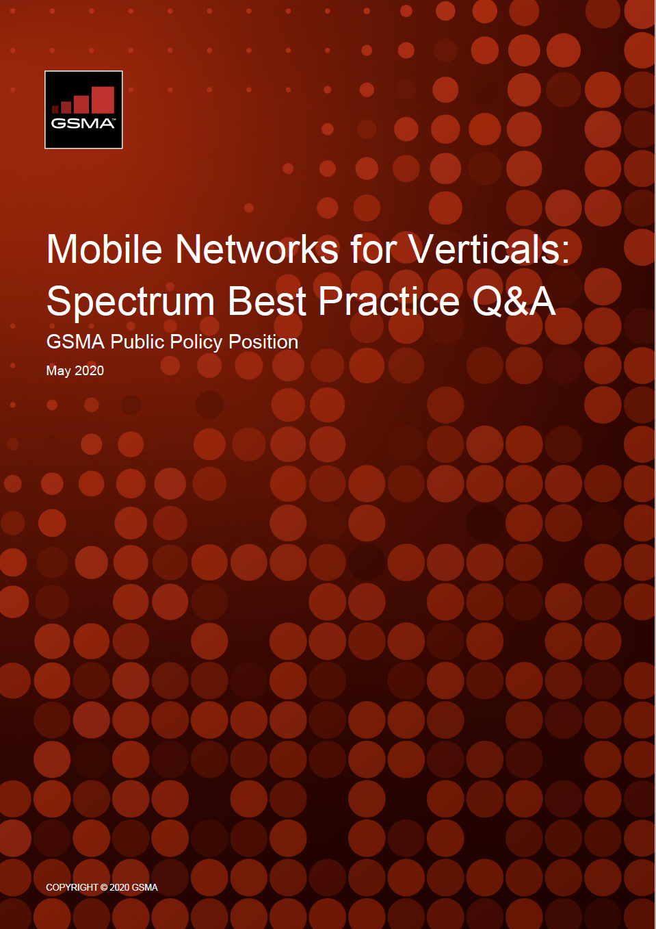 Mobile networks for verticals and MNOs – a how-to for regulators image