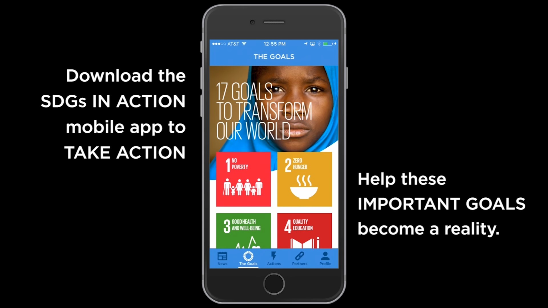 Download the SDGs in Action App
