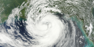 Hurricane Isaac on August 28, 2012