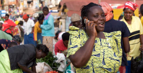 In Kenya microfinance is going mobile