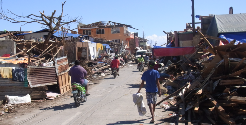 All told, Typhoon Bopha was the most devastating typhoon to hit the area for 100 years.