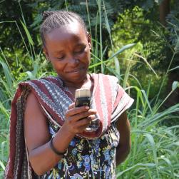 Rachel, Remote Rural Community near Morogoro, Tanzania