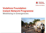 Webinar: Mobile & Humanitarian 101 - Vodafone Foundation