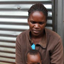 Florence, Kibera, Nairobi, Kenya