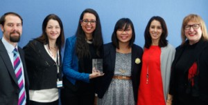 Sahel Shake wins Grand Prize in GSMA mWomen Design Challenge