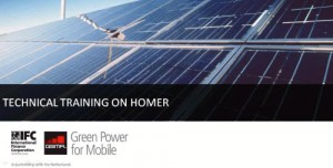 New Video Training: Learn to use the HOMER renewable energy design tool
