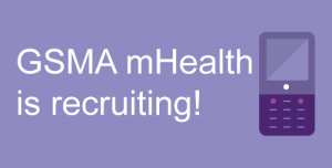 The GSMA mHealth team is recruiting: Learn more about our roles