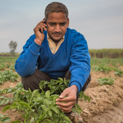 Ranjendra, mobile agriculture and health, India
