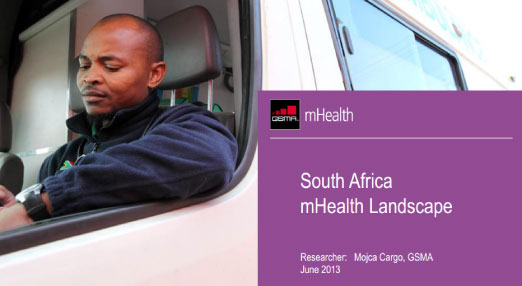 Results from the South African mHealth Landscape
