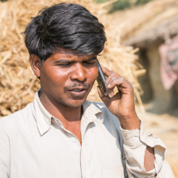 Ramjit, Mobile for Employment, Dora District, India