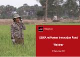GSMA mWomen Innovation Fund: Information for Mobile Operators & NGOs