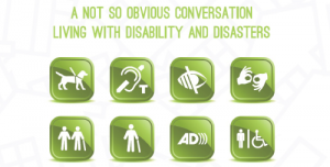 'Living with disability and disasters': towards accessible communication for all