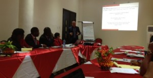 GSMA mHealth at the ICT4SOML Workshop in Nigeria.