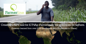 Creating what's next for ICT4Ag: Farmerline's voice services for farmers