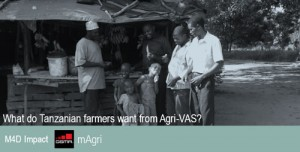what do Tanzanian farmers want from Agri-VAS