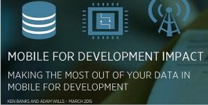 Mobile for Development Impact
