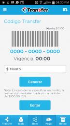 Transfer barcode